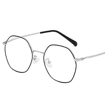 FeliciaJuan Adult Glasses Multilateral Diamond Glasses Box General Computer Goggles Men and Women