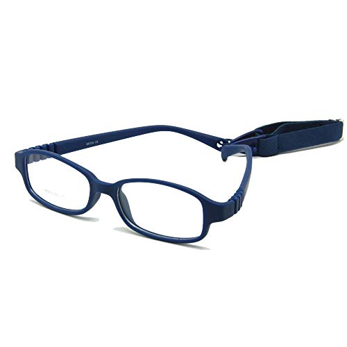 a9246a36a97 EnzoDate Children Optical Glasses Frame with Strap Size 49-16