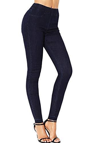 Sólido Vaqueros Bolsillos Schwarz Pantalones Skinny Lápiz Ropa Moda Mujer Aire Color De Delanteros Libre Stretch Al xZq8vgzq