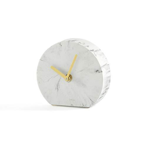 - La Redoute Interieurs Bakala Marble Mantel Clock Green Size One Size