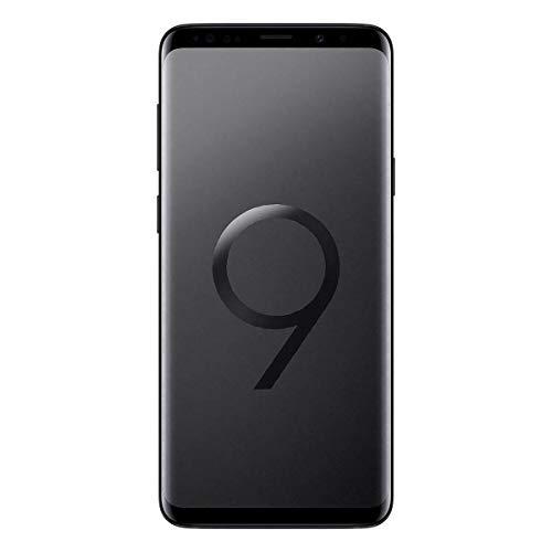 Samsung Galaxy S9 (SM-G960F/DS) 4GB / 64GB 5.8-inches LTE Dual SIM (GSM Only, No CDMA) Factory Unlocked - International Stock No Warranty (Midnight Black, Phone Only)
