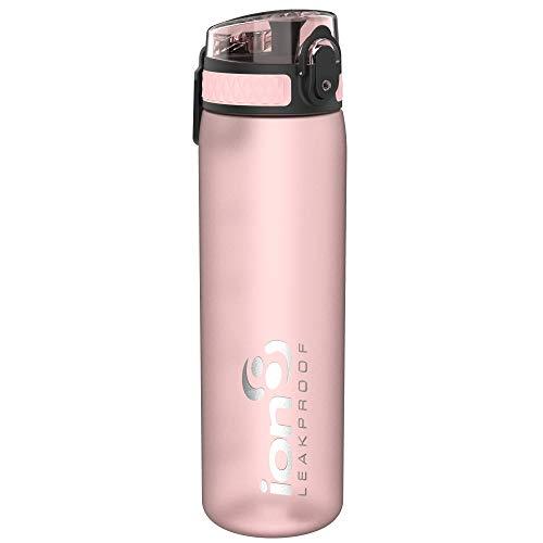 Ion8 auslaufsichere schlanke Trinkflasche, BPA-frei, 500ml