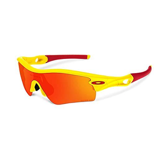 Oakley Radar Path Sunglasses - Asian Fit Daeho Lee Yellow/Fire, One ()