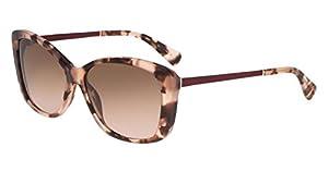 Cole Haan Women's Ch7005 Plastic Butterfly Cateye Sunglasses, 58 mm