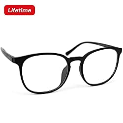 WAMTHUS blue light blocking glasses Not only can be used as computer glasses, reading glasses, but also as sunglasses.Prevent eye strain when working on a computer, tablet, mobile phone or TV. Reduce eye damage and protect your eyes when using your c...
