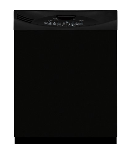 Large Dishwasher Cover in Black