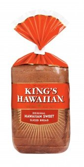 King's Hawaiian Original Hawaiian Sweet Sliced Bread (12 bags per case)