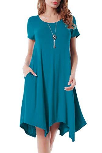 Cuello de Vestido redondo asim mujer gYw1a