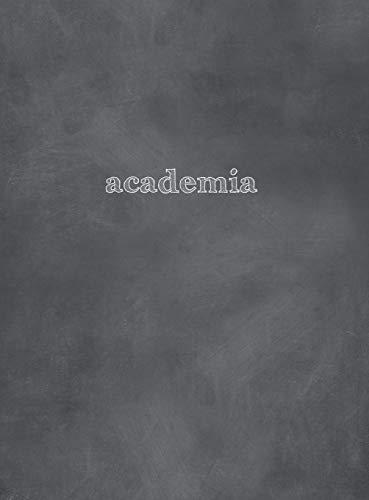 Academia 2018-2019 Monday Start: 8.5x11 Academic Planner Chalkboard Cover