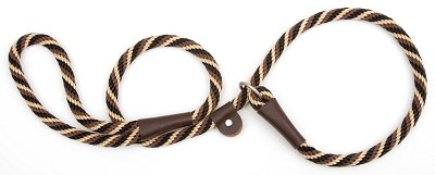 Mendota Dog Products British Style Slip Leash, 1/2-Inch by 4-Feet, Diamond Amber, My Pet Supplies