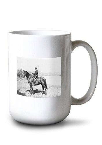 Lantern Press Royal Canadian Mounted Policeman Photograph (15oz White Ceramic Mug)