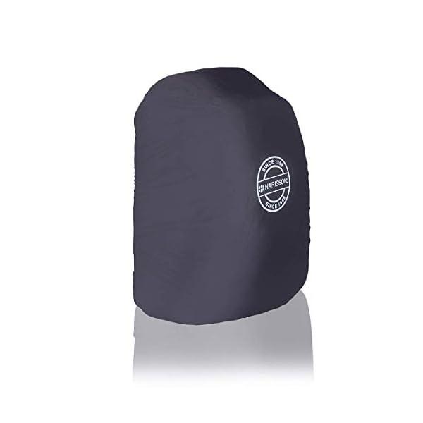 31qOnV5oYeL Harissons Polyester Waterproof & Weatherproof Black Rain Cover for Backpack