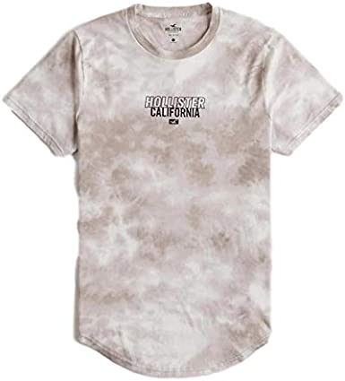 Hollister - Camiseta con Estampado de Tie-Dye para Hombre Marfil ...