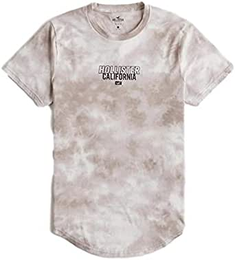Hollister - Camiseta con estampado de tie-dye para hombre Marfil blanco XL: Amazon.es: Ropa y accesorios