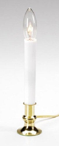 Darice Crafts 6207 7'' Electric Welcome Window candle with Sensor - Quantity 12