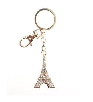 EquinOxe Llavero Torre Eiffel - Acero Inoxidable Dorado y ...