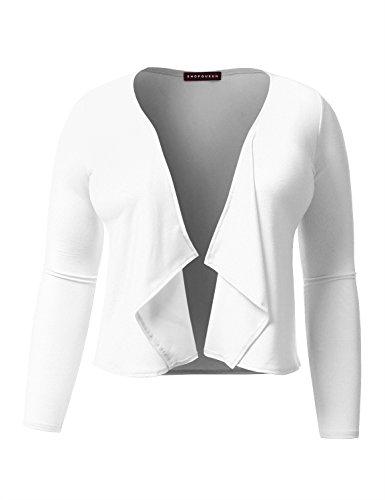 SHOPQUEEN Sleeve Lightweight Casual Cardigan