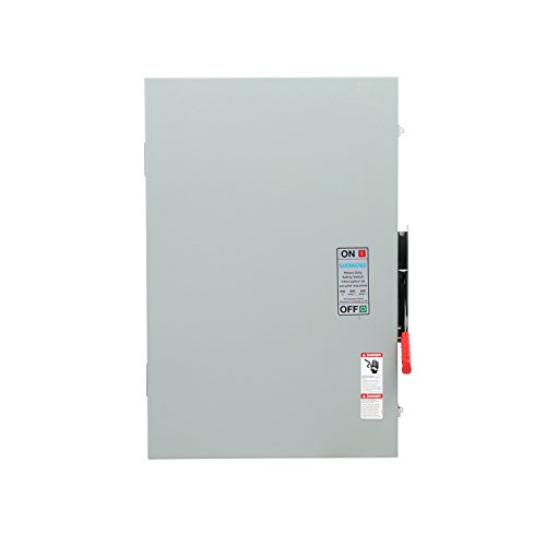 Siemens HNF365A Heavy Duty SAFETY Switch, Non-Fusible, 3 Pole, 600 Volt, 400 Amp, Indoor Rated