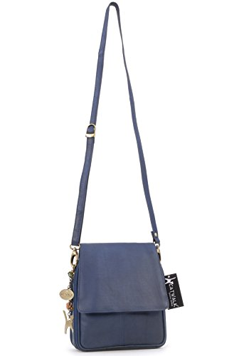 en cuir Catwalk Collection type Sac signé Bleu