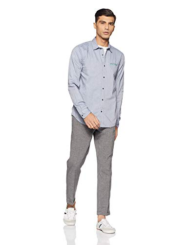 Homme amp; An Pocket F Chemise Chest Soda Pochet With Combo Regular Classic Casual Shirt Fixed Scotch Fit 16qxfd6T