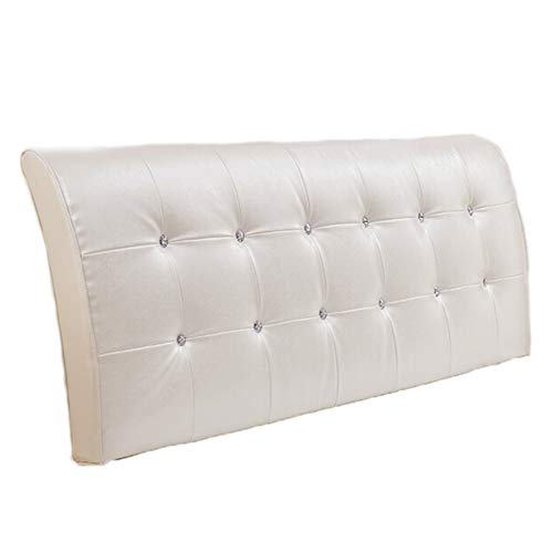 Lumbar Pad Backrest Bedside Back Cushions Headboard Pillow Cushion Backrest Bolster Support Pillow Large Bed Backrest Pillow- Removable and Washable to Relieve Back Pain ZHML