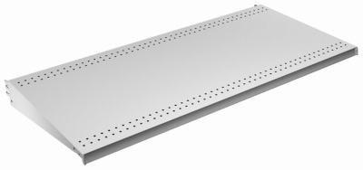 Lozier Store Fixtures DL422N WHT 4 ft. Wide x 22 in. Deep44; White Lozier Shelf - Pack of 2 (Fixtures Store Lozier)
