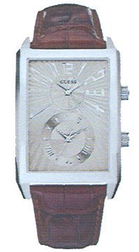 Guess Men's Watches Guess Dress Gents Leather Strap W95059G2 - WW