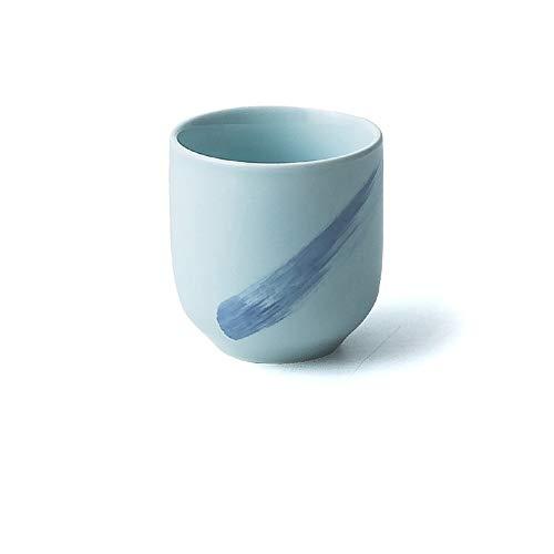 XQJDD Hotel set ceramic tableware set creative dish plate five-piece suit blue color 7.3x7.3cm
