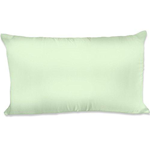 Spasilk 100% Silky Satin Hair Beauty Pillowcase, King, Sage