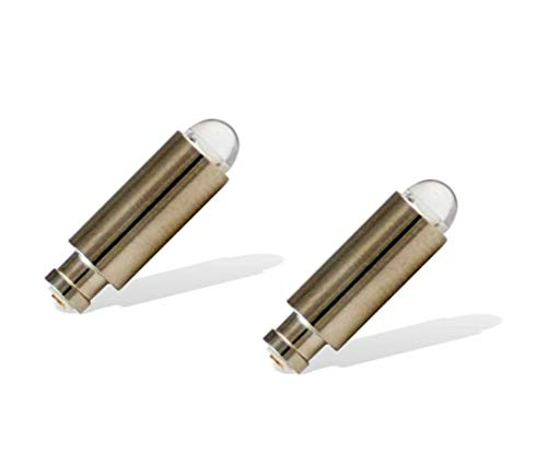 VE-SPECIALS 2 Pack, Halogen Replacement Bulbs for Welch Allyn Otoscopes and Illuminators Using WA-03400 or WA-03400-U Bulbs