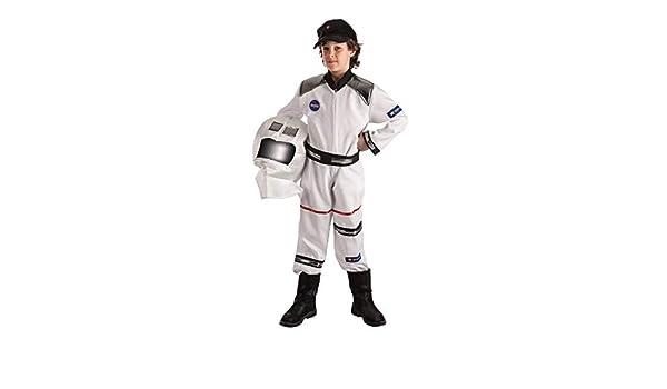 El Rey del Carnaval Disfraz Astronauta 3/5 AÑOS: Amazon.es ...