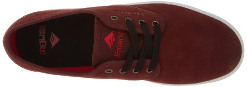 Homme Romero Rot Baskets The burgundy Laced white Emerica qwISAx1x
