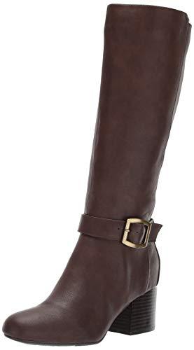 Aerosoles Women's Patience Knee High Boot, Dark Brown Combo, 7.5 M US