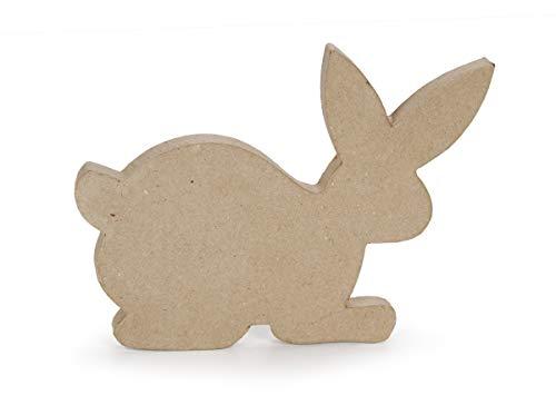 Darice Paper Mache 3D Bunny Shape