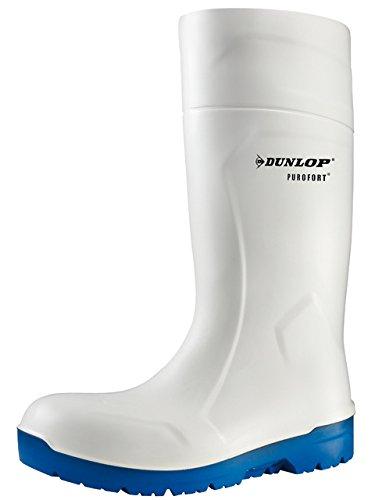 Dunlop PUROFORT HydroGrip Safety weiß, Arbeitsgummistiefel Weiß