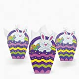 Paper Easter Basket-Shaped Gift Bags ( 1 dozen)