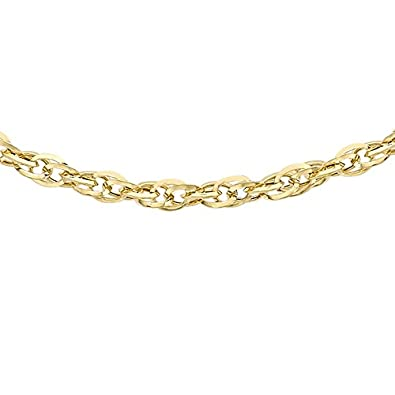 Carissima Gold 9ct Yellow Gold 16 Prince of Wales Chain IlLd0oge0