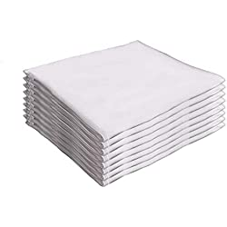 Guardmax Waterproof Pillow Protectors Zippered Encasement Blocks Bed Bugs and Dust Mites (Set of 8) Hypoallergenic Covers Non Noisy (Standard Size - 8 Pieces – White Color)