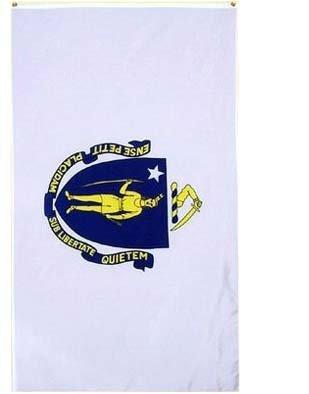 New 3x5 Massachusetts State Flag US USA American Flags