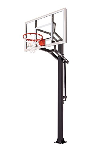 Goalrilla GS54 In Ground Basketball Hoop with Adjustable Height Backboard