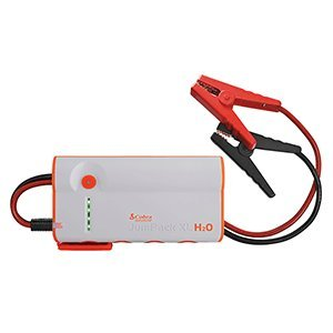 - Cobra JumPack H2O 3-in-1 Portable Power Jump Starter: Battery Charger, Power Pack & LED Flash Light with Jumper Cables, 600 Amp Peak, 12000mAh for Instant Power to Car, SUV, Motorcycle or Boat