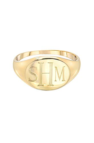 gold signet ring ()