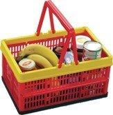 Einkaufskorb 16L mit Henkel klappbar Kiste Box Einkaufskiste Einkaufsbox Alpfa