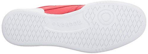 Reebok Heren Club C 85 Fashion Sneaker Primair Rood / Wit / Zwart / Vitaal Blauw / Trnthln Rood