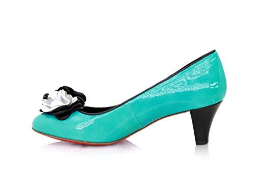 femme Diamond lagon Bleu Heels pour Escarpins Bleu pzzqt1w