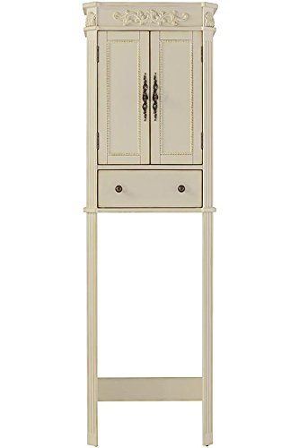 Chelsea Space Saver, 72''Hx22''Wx11''D, ANTIQUE WHITE by Home Decorators Collection