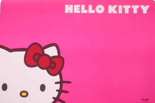 Hello Kitty Pet Bowl Mat