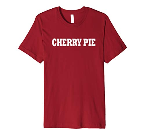 Cherry Pie Food Halloween Costume Party Cute Funny T -