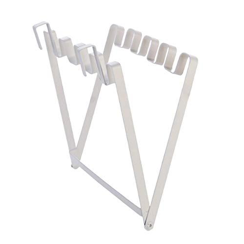 Rendodon(TM) Hot!!  Garbage Bag Hanging Bracket, Household Garbage Bag Bracket Hook Kitchen Plastic Bag Rack Frame (Size:26x324cm) ()