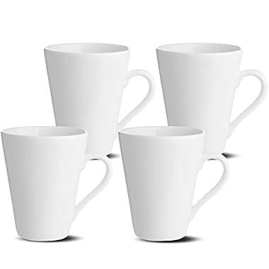 Oxford Gourmet Mugs (Set of 4), White